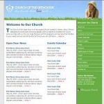 Church Website with News, Podcasts and Video Streams